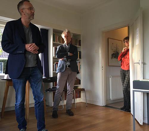 Peter Bergsma (midden)